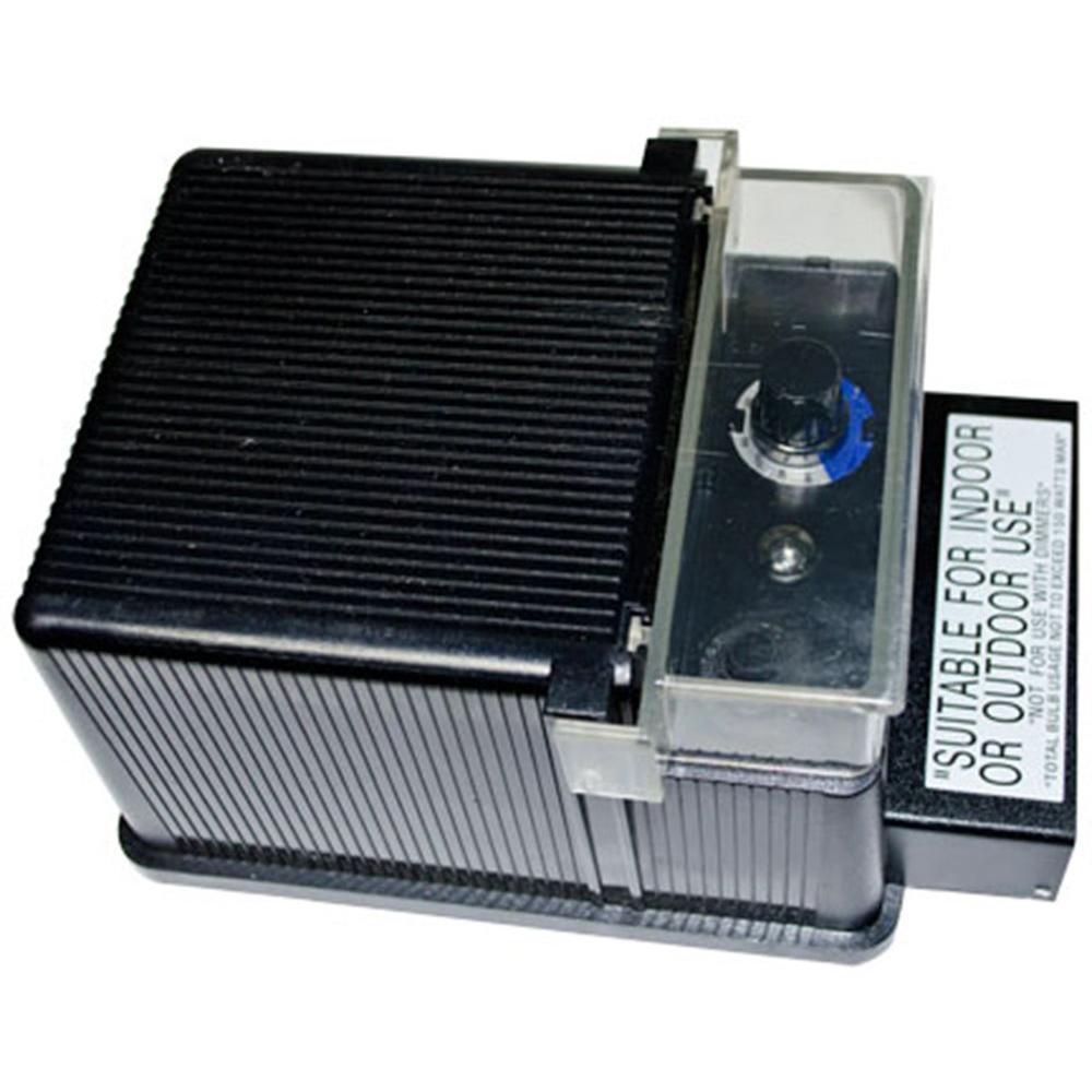 Triac 150-Watt Black Low Voltage Outdoor Transformer