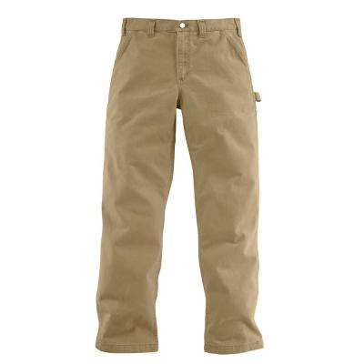 Men's 36x32 Field Khaki Cotton Straight Leg Non-Denim Bottoms