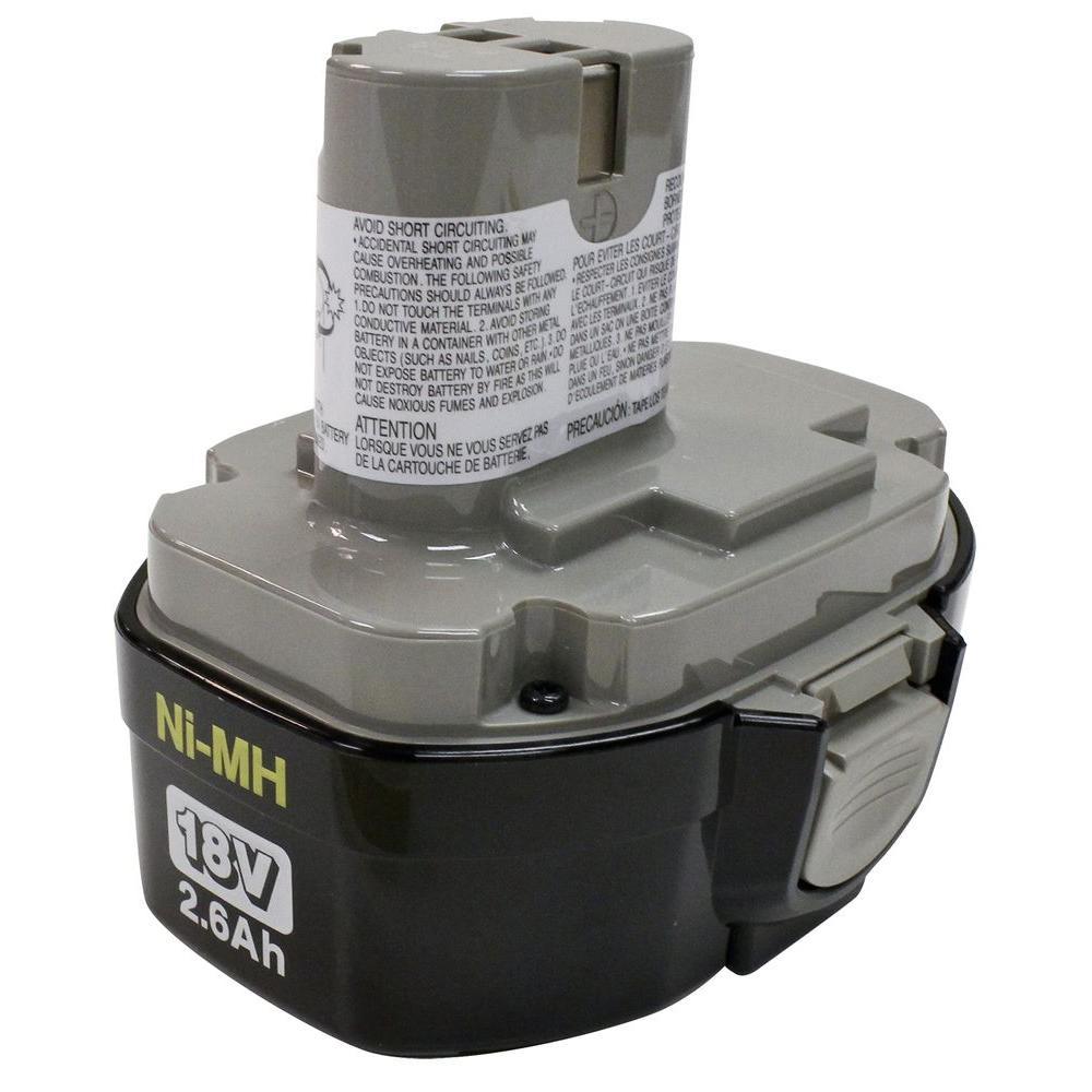 Makita 18-Volt Ni-MH Battery 2.6Ah