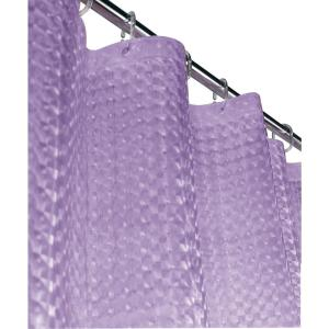 Mirage 72 inch Lilac 3D Shower Curtain by