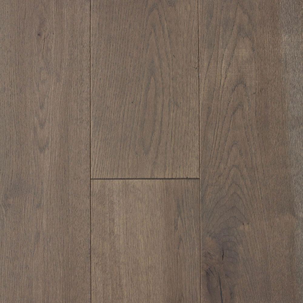 Take Home Sample - Castlebury Scarborough Grey Brushed White Oak Engineered Hardwood Floor - 5 in. x 7 in.