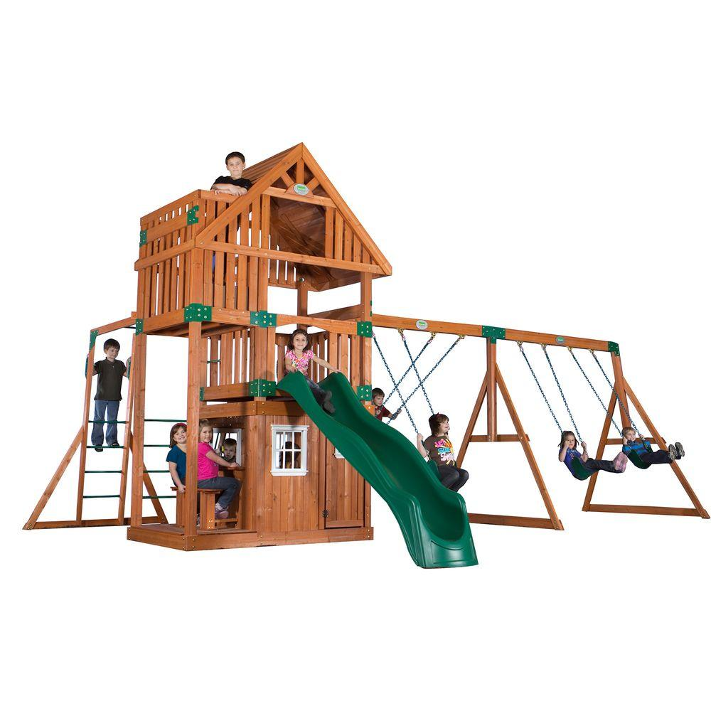 Backyard Discovery Wanderer All Cedar Playset