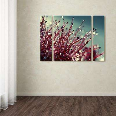 "30 in. x 41 in. ""For You and Me"" by Beata Czyzowska Young Printed Canvas Wall Art"