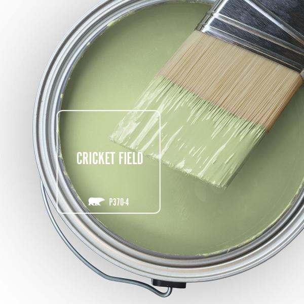 Reviews For Behr Premium Plus 1 Gal P370 4 Cricket Field Flat Exterior Paint And Primer In One 440001 The Home Depot