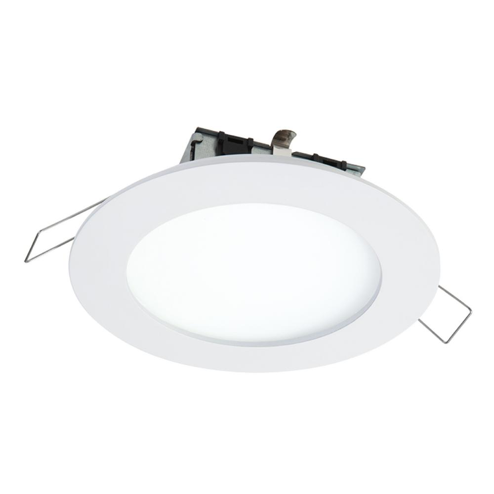 SMD-DM 4.85 in. Lens White Round Integrated LED Surface Mount Recessed