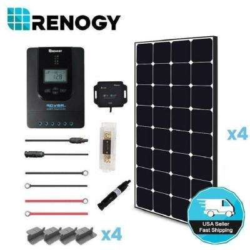 400-Watt 12-Volt Monocrystalline Off-Grid Eclipse Solar Premium Kit