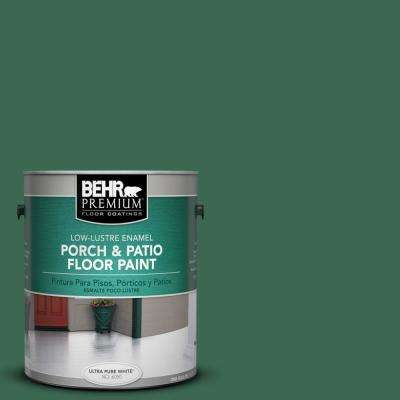 1 gal. #M410-7 Perennial Green Low-Lustre Porch and Patio Floor Paint
