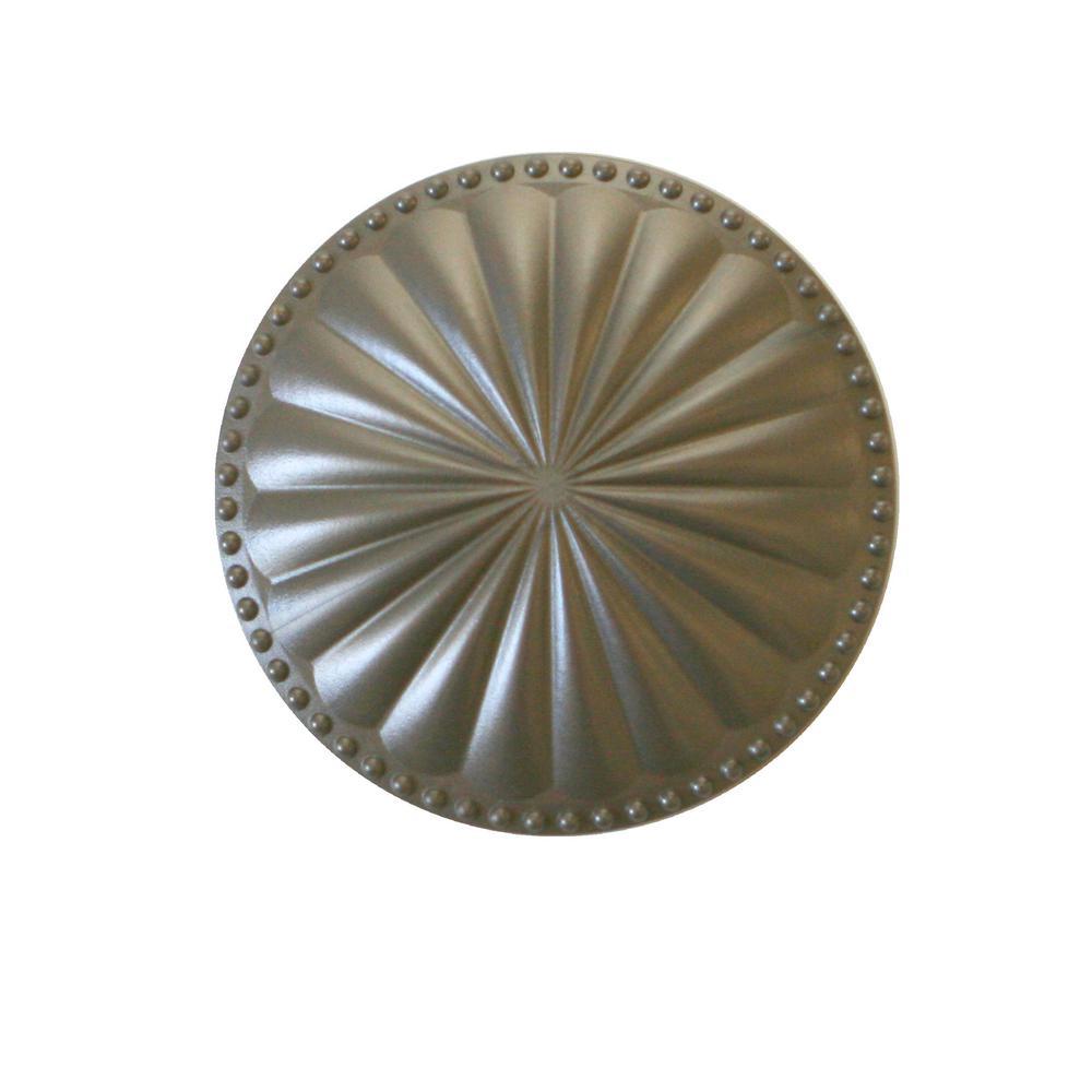 Creative Cleanout Covers Laguna Dome Beachnut Bronze 5.25 in. x 5.25 in. Cleanout Cover