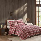 Tasha 3-Piece Red King/Cal King Quilt Mini Set