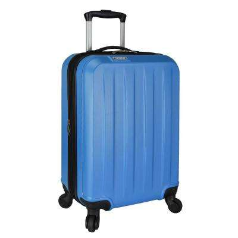 Elite Dori Expandable Carry-On Spinner Luggage, Blue