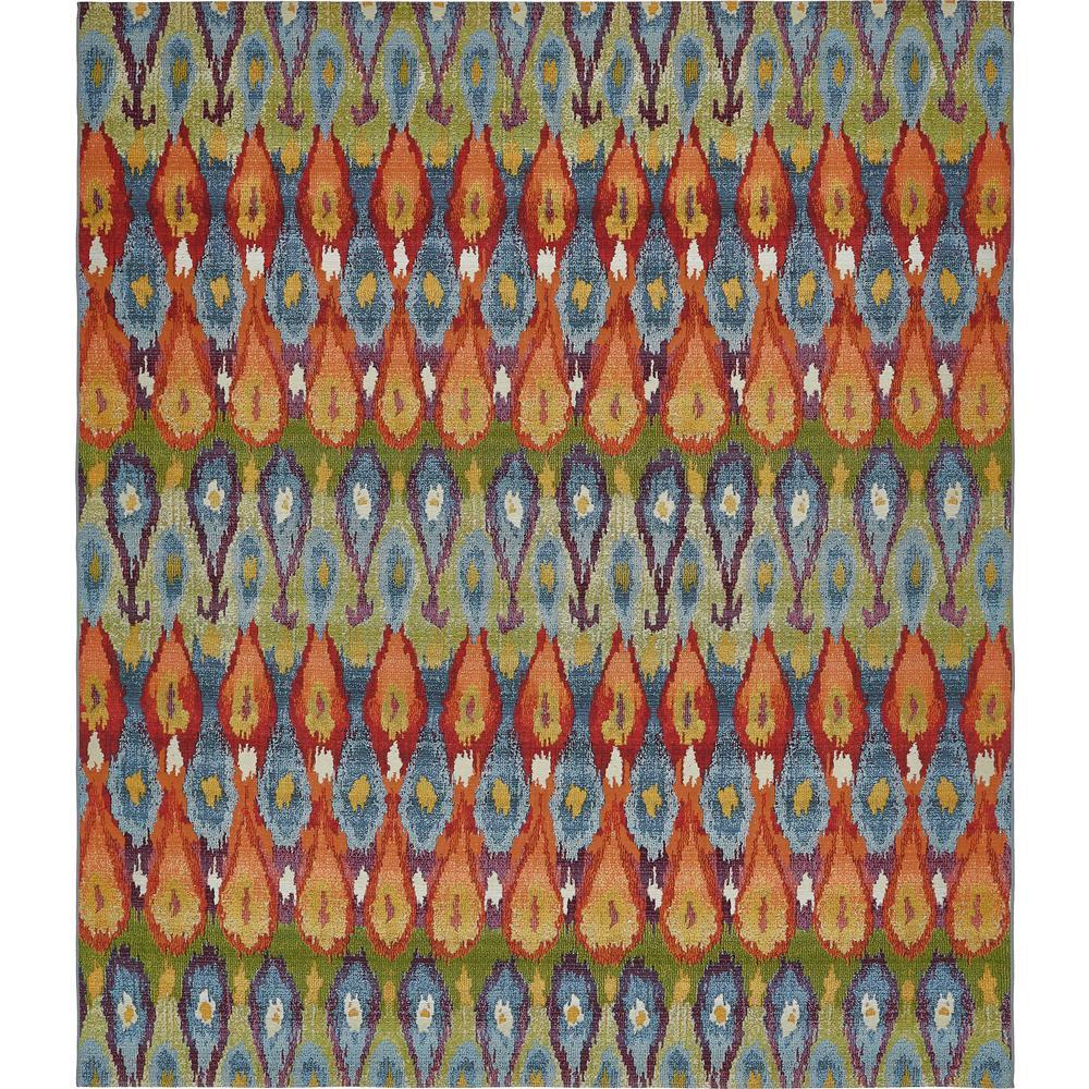 10 by 12 rug. Unique Loom Outdoor Modern Multi 10\u0027 X 12\u0027 Rug 10 By 12