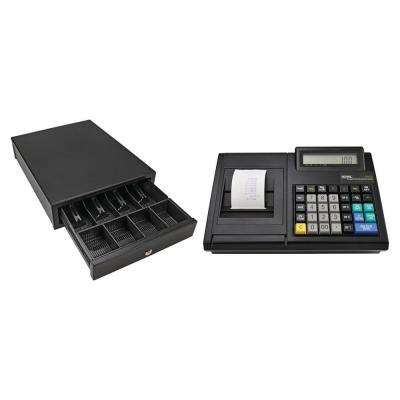 100CX Portable Electronic Cash Register with MCD100 Portable Cash Drawer