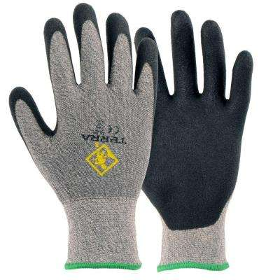 Fabric Level 3 Cut Resistant Large Work Gloves