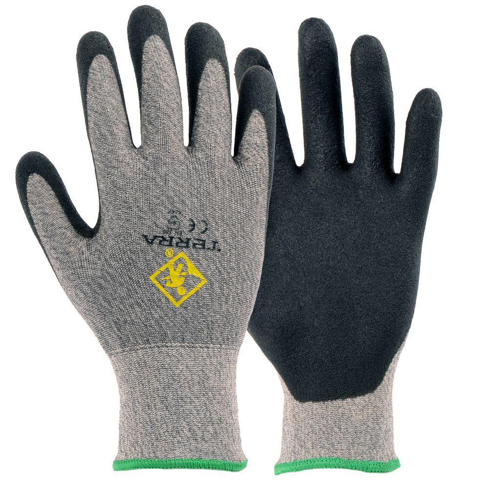 Fabric Level 3 Cut Resistant Medium Work Gloves