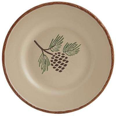 Pinecroft Tan Salad Plate (Set of 4)