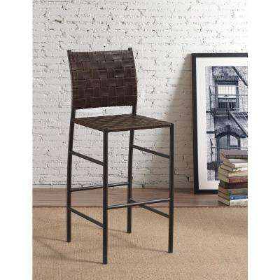 Sarasota 30 in. Bourbon Cushioned Bar Stool