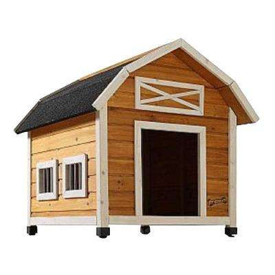 2.7 ft. L x 2.4 ft. W x 2.6 ft. H Medium the Barn Dog House
