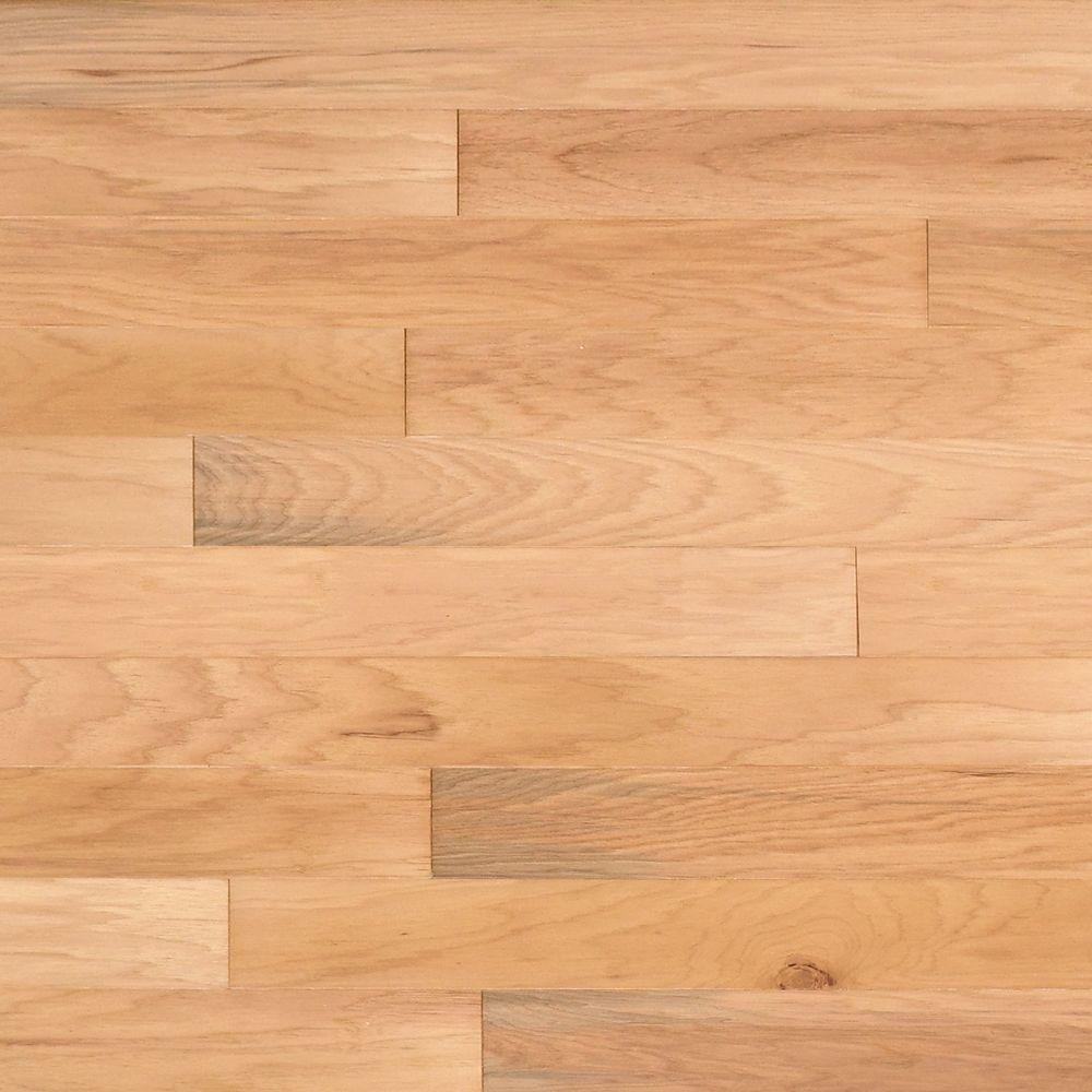 Heritage mill vintage hickory sea mist 3 4 in thick x 4 for Real hardwood floor colors
