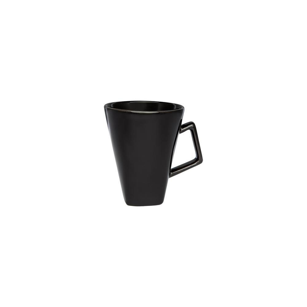 Manhattan Comfort Nara 11.83 oz. Black Square Beveled Earthenware Mugs (Set of 12) was $119.99 now $64.63 (46.0% off)