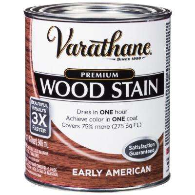 1 qt. Early American Premium Fast Dry Interior Wood Stain