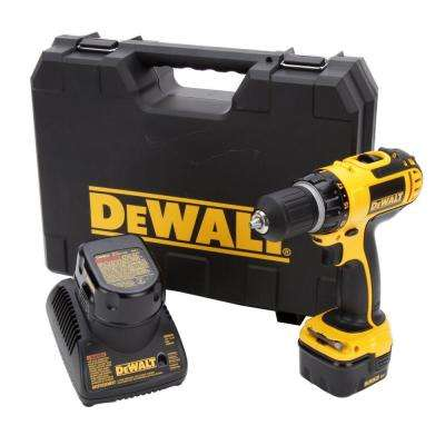 12-Volt Ni-Cad 3/8 in. Cordless Compact Drill Kit