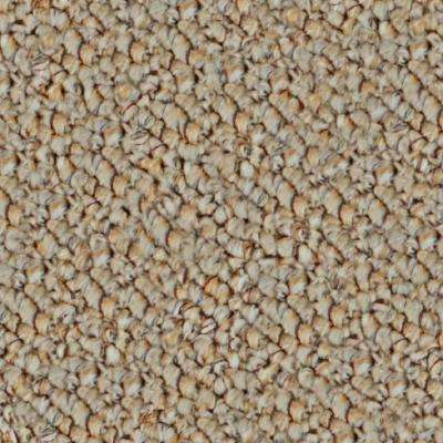 Carpet Sample - Vacation Day - In Color Country Cream 8 in. x 8 in.