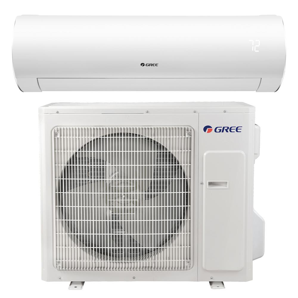 Sapphire 22,000 BTU 2-Ton Ductless Mini Split Air Conditioner with Inverter,