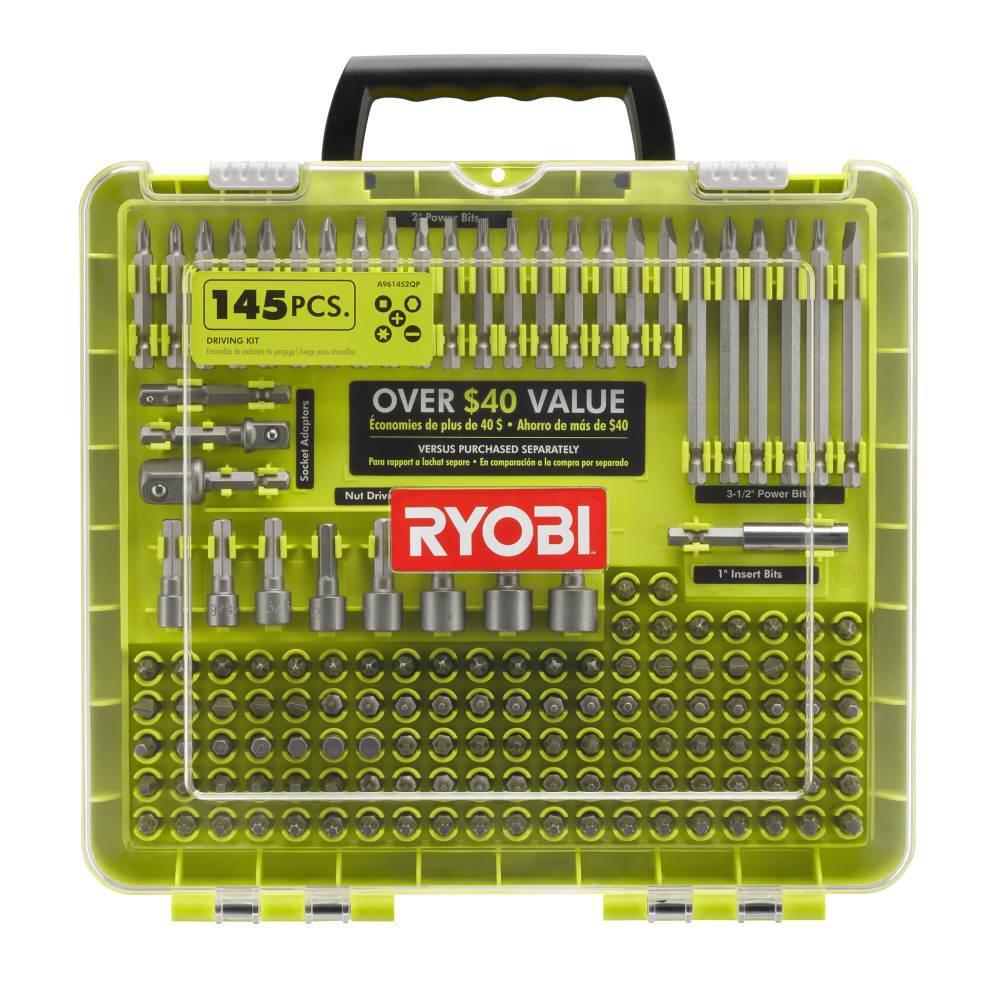RYOBI Driving Kit (145-Piece)