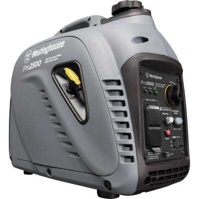 Pro Series 2,500-Watt Gas Powered Inverter Generator with OSHA Compliant GFCI Outlets