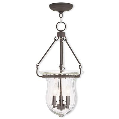 Andover 3-Light Bronze Pendant