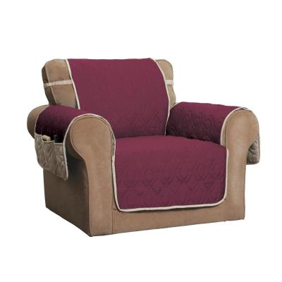 5-Star Burgundy/Ivory Chair Protector