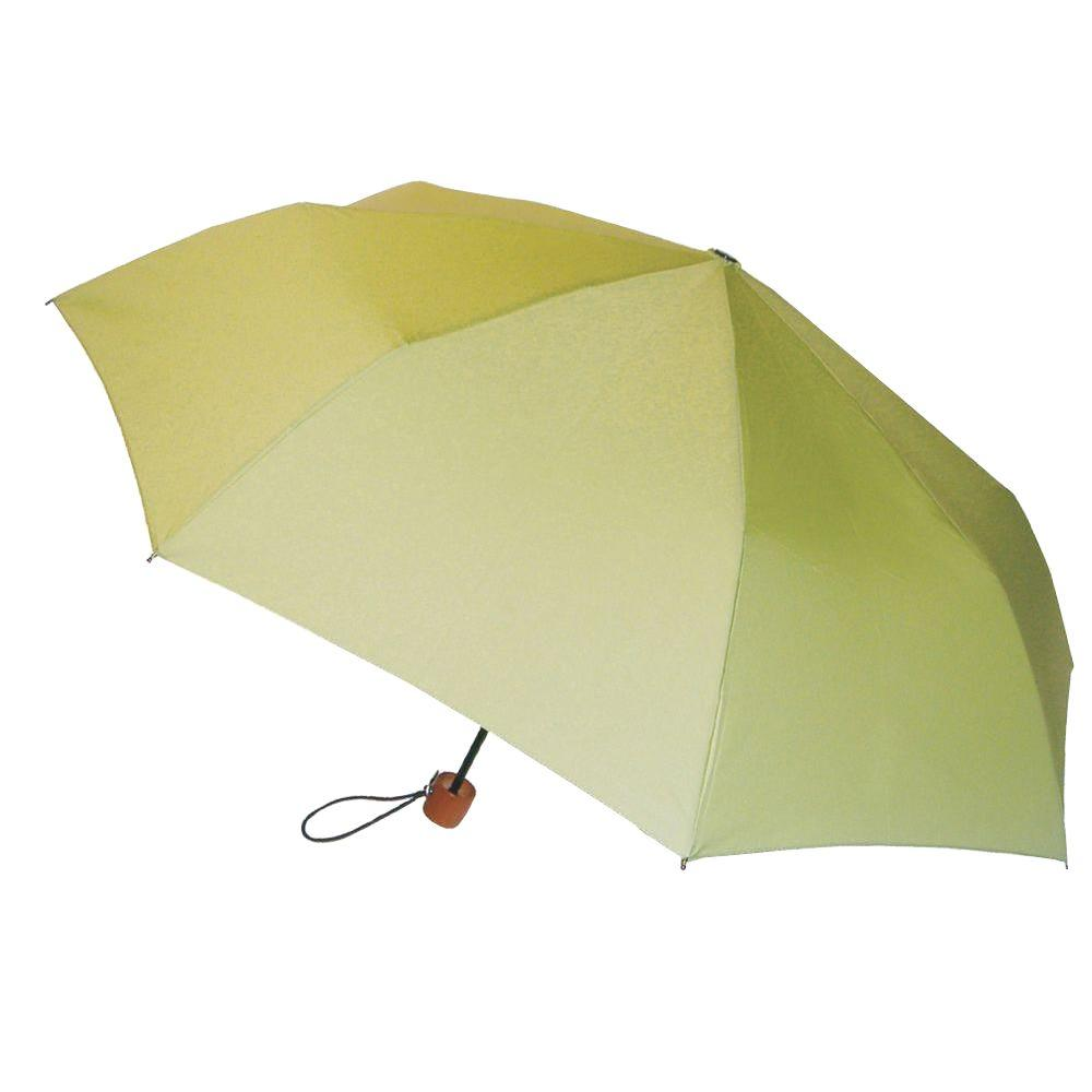 London Fog 44 in. Arc Mini Umbrella in Leaf