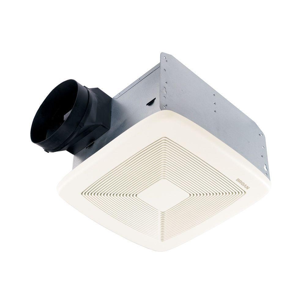 Broan-NuTone QT Series Very Quiet 80 CFM Ceiling Bathroom Exhaust Fan, ENERGY STAR*