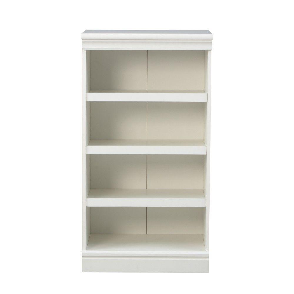 Manhattan 4-Shelf Modular Storage Shoe Shelf in White