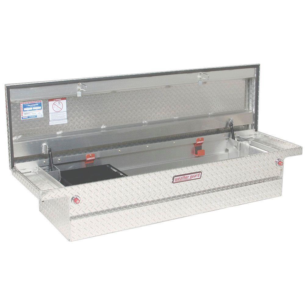 Full-Size Aluminum Low Profile Saddle Box