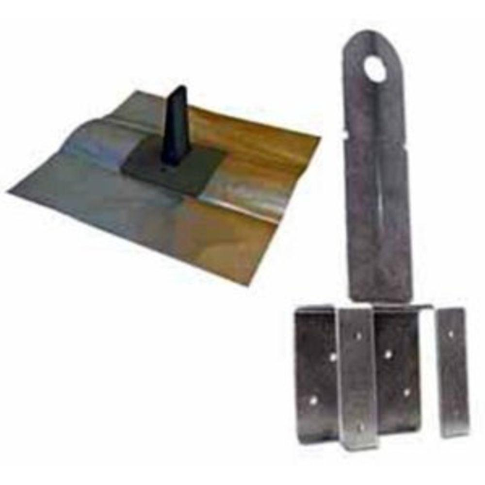 Qualcraft T-T Boss Terracotta Kit (Anchor/Flashing/Fasteners /Cap)