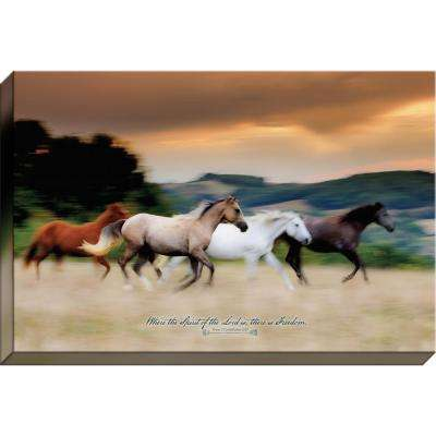 """Free to Be """"Where the Spirit of the Lord Is"""" By Carpentree Canvas"""