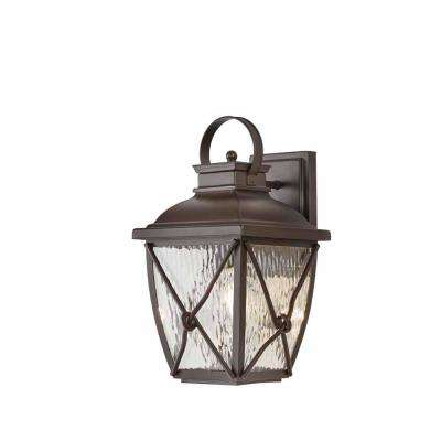 Springbrook 1 Light Rustic Outdoor Wall Mount Lantern 2 Home Decorators Collection