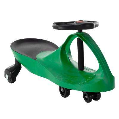 Green Zigzag Ride on Car No Batteries