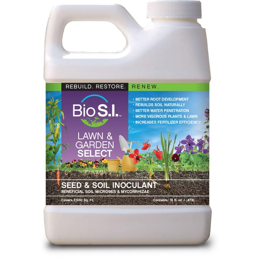 Lawn and Garden Select 16 fl. oz. Organic Seed and Soil