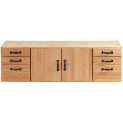 Elite 55 in. x 16 in. Storage Module with 6-Drawers and 2-Doors