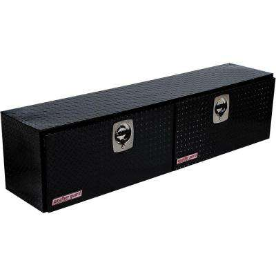72.25 in. Aluminum High Side Box in Black Driver Side