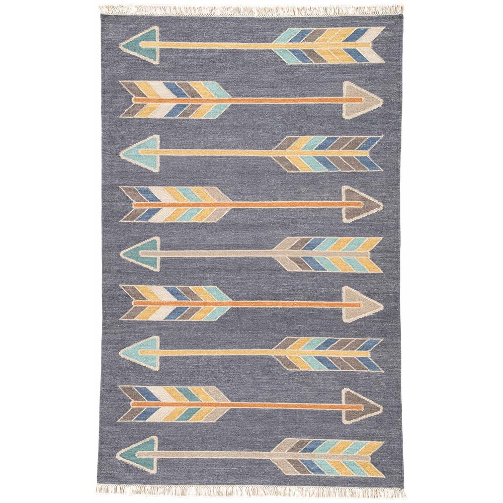 Jaipur Rugs India Ink 8 Ft. X 11 Ft. Tribal Area Rug