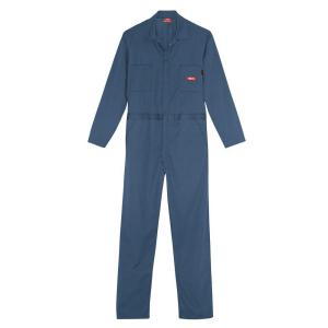 Dickies Men's 3X-Large Navy Flame Resistant Lightweight Coverall by Dickies