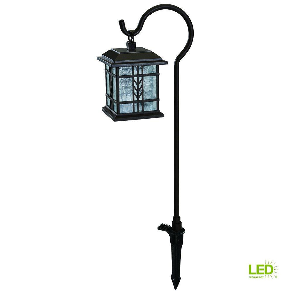Hampton Bay Low-Voltage Bronze Outdoor Integrated LED