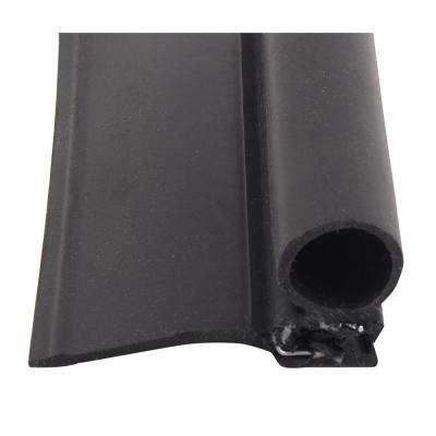 Single Bulb Seal with Wiper in Black