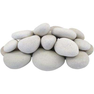 1 in. to 3 in., 30 lb. Small Egg Rock Caribbean Beach Pebbles