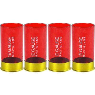12-Gauge Shot Glass (4-Set)