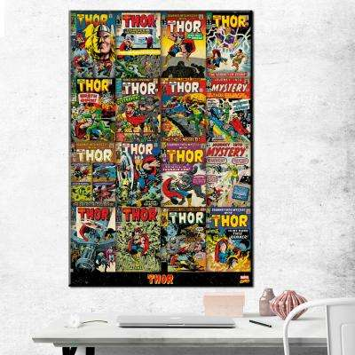 "24 in. x 36 in. ""Thor - Covers"" Printed Canvas Wall Art"