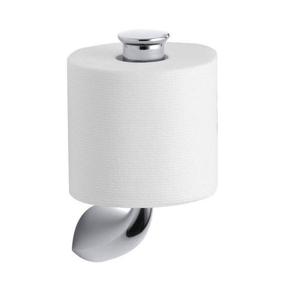 Finest KOHLER Alteo Vertical Single Post Toilet Paper Holder in Polished  DM54
